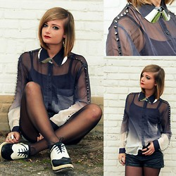 DEMI M - Beginning Boutique Blouse - BE THE TYPE OF PERSON THAT YOU WANT TO MEET
