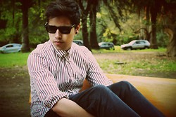 Luis Espinoza - Shirt, Sunglasses - We are never ever getting back together