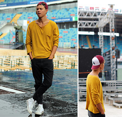 Andreas Wijk -  - Before the gig.