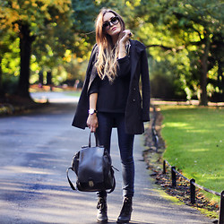 Anouska Proetta Brandon - Guess? Jeans, Love Jumper, Chic Wish Shades & Boots, Late Manta Bag, Guess? Jeans - I've got love for you.