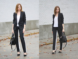 Petra Z. - 3.1 Phillip Lim Pants, Tara Jarmon Blazer - Shadow pants