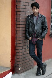 Sid Curtis - Leather Vintage, Levi's® Jeans - READ IT & WEEP