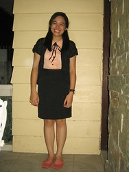 Aira Mercado - Jellybean Peter Pan Collar Top - Typical School Girl