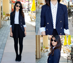 Yuri Lee - Gap Perfect Dot Shirt - Seeing dots