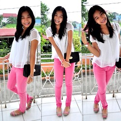Geraleen Nicole Gaytano - Forever 21 Top, Paddocks Pants, Payless Flats - 10/16/12