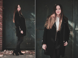 Justine Rebbot - Sandro Coat - Favorite Coat ♥