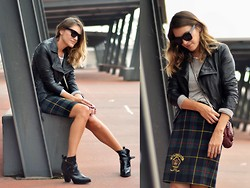 Mireia MDS - Alexander Wang Bag, Vintage Plaid Skirt - VINTAGE SKIRT