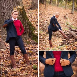 Natalia Yancheva - Zara Jeans, Mango Sweater, Zara Jacket - The Hunting of the Snark