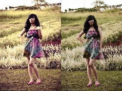 Boz Basiloy - Forever 21 Boho Dress, Sole Mate Pink Flats - I'm inlove with nature