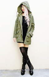Nichole Nichole - The Cultlabel Military Parka Jacket - October