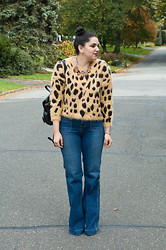 Gabriela Monsanto - Dannijo Necklace, Sheinside Sweater, Marc By Jacobs Bag, J. Brand Jeans - Hear Me Roar