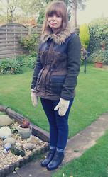 Abbie P - Red Herring Coat - My new winter warmers!