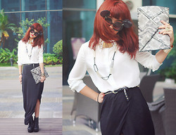 Linh Doan - Cheap Monday Maxi Skirt - OutofMymind.
