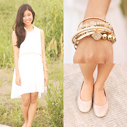 Andrea Ferma - Dress, Bangles, Flats - Sweet Sixteen