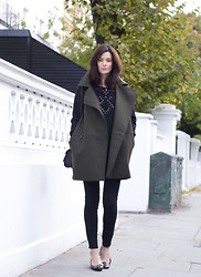 Hedvig ... - Vanessa Bruno Athe New Studded Knit, Mango Wool Coat, Tod'S Shoes, Proenza Bag - Studs