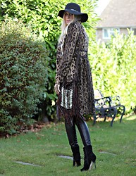 Giselle C - Karen Millen Coat, Spell Bag, Nine West Boots - Golden Oldies!!!!