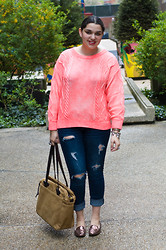 Gabriela Monsanto - H&M Sweater, Filson Bag, American Eagle Jeans, American Eagle Shoes - Sometimes Simple is Best