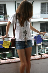 Isa M. - Buffalo Exchange White Tshirt - Two.