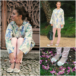 Iryna G - Peony Lim Smock Top, H&M Pant, D&G Bag, Shoes From Portugal - Asian Flower