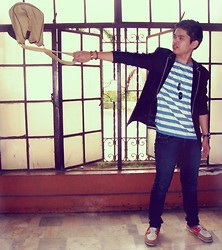 Judyson Dumapias - Penshoppe Shirt, Sperry Topsider Boat Shoes - Ravage.