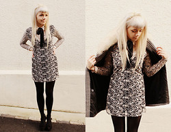 Kate G - Motel Paisley Mini Dress - Sixties sunday (: