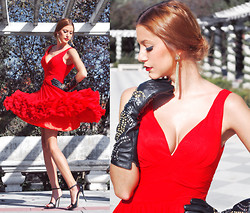 Andrea Gomez - Msdressy Dress - MY ELEGANT RED DRESS