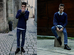 Scott Terral Downey Ѧ - Scotch & Soda Jumper, Cheap Monday Jean, Ralph Lauren Shirt, Clif Boots - In Grace of your Love