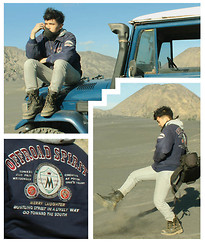Dimszk Stywn - Wave Off Road Or Marine Stock Jacket, Axell Jeans Mistrouser, Batantstride Boots - Dust In The Wind