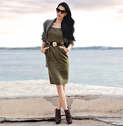 Konstantina Tzagaraki - Zara Overall, Zerouv Sunglasses - Feelings come and go like clouds in a windy sky..
