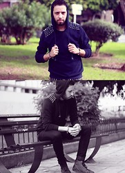 Yassine Amlal - Y Two Sweaters, Zara Jeans, Zara Boots - Think in the next