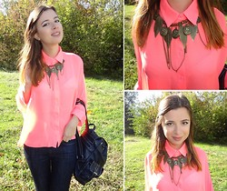 Nika Y -  - Pink Goes Neon for Fall