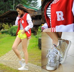 Kryz Uy - Wagw Top, Choies Sneakers, Romwe Shorts - Dahilayan Adventure Park