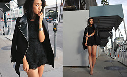 Jenny Ong -  - Brunch in black