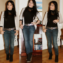Christine Dior (Discover Fashion Author) - Primark Cardigan, Levi's® Denim Wash Off - Fave pieces...