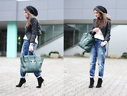 Anni *** - 3.1 Phillip Lim Bag, Gina Tricot Jeans, Buffalo Booties - Boyfriend