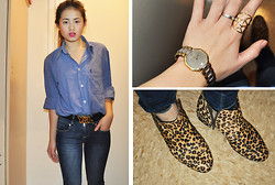 Bowie M - Yves Saint Laurent Top, Yves Saint Laurent Belt, Steve Madden Boots, Christian Dior Watch - Winter Warmth