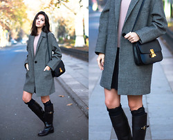 Doina Ciobanu - Balenciaga Oversized Coat - M83- WAIT