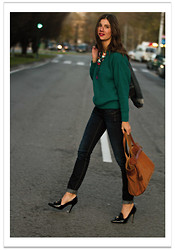 Belén @balamoda - Romwe Sweater, Ikks Bag, Patoh Shoes - Look 24 hours