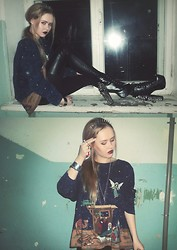 Yelena Lisovets - Jeffrey Campbell Shoes - Personal Jesus