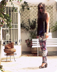 "Bianca M. Pinotti - Diy, Czarina Vintage ""Box"", H&M Floral Legging, Dummond Lovely - Rising From the Ashes"