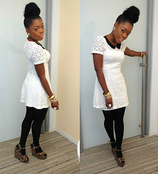 Kelly W - Forever 21 Lace Dress - Janelle Monae!!!