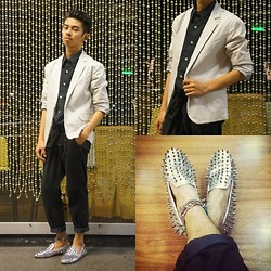 Mike Miguel - Studded Loafers - 12/20/12
