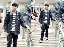 Chandra Pramana Putra - Jeans Jacket - Ciwalk emotion