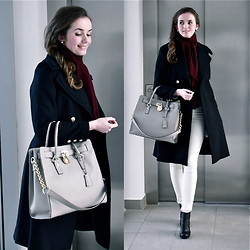 Mirela Mg - Zara Coat, Cubus Jeans, Tommy Hilfiger Boots, Michael Kors Bag, F&F Scarf - We have a winter
