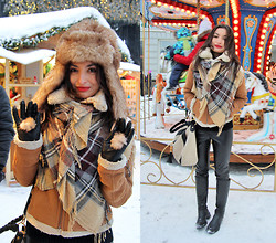 Lucine A - Lindex Leather Pants, Zara Aviator Jacket - Merry Christmas!