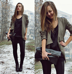 Cveti Dimitrova - Second Hand Military Blazer - I'm living on such sweet nothing