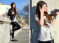 "Filipa Gameiro - Zara Pants, Zara T Shirt, Zara Necklace - ""B'DAY"""