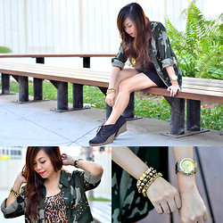 Kat M - Happyboon Arm Candies, K2 Military Jacket - Hello 2013!