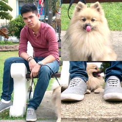 Judyson Dumapias - Topman Sweatshirt, Topman Sneakers - The Walking Dog.
