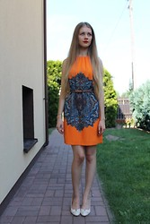 Izabela Wojciechowska - Zara Dress, Zara Belt, Cb Clara Barson Shoes - Enjoy the silence